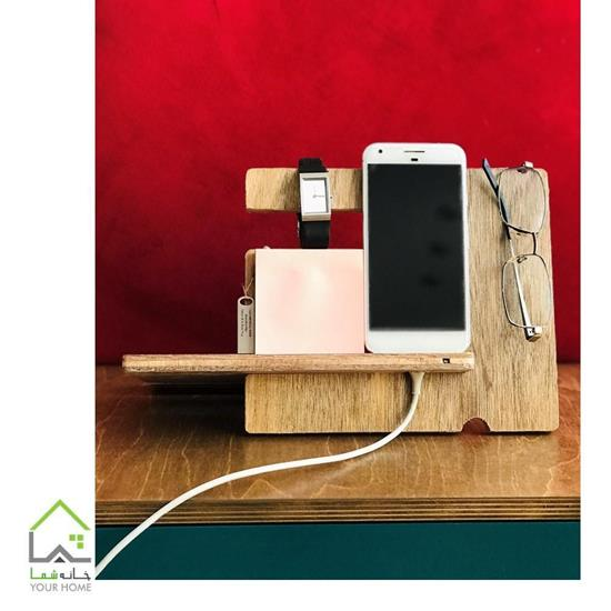 جا موبایلی چوبی