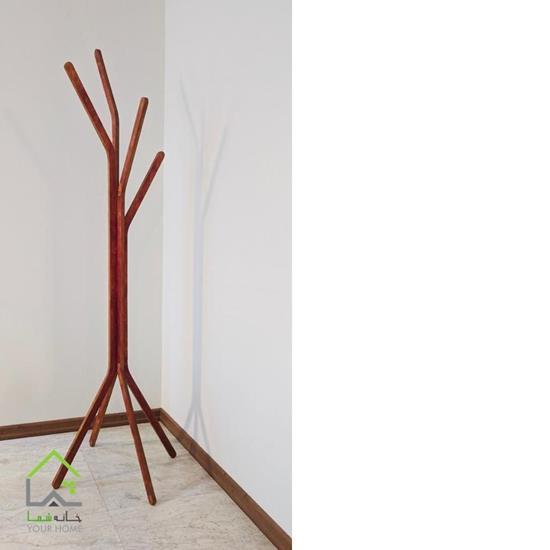 چوب لباسی رنگ فندوقی