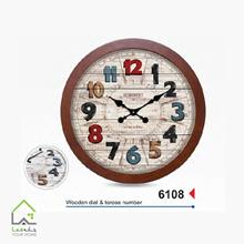 ساعت دیواری 6108