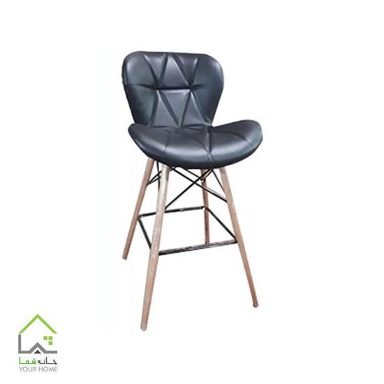 صندلی کانتر چوب راش