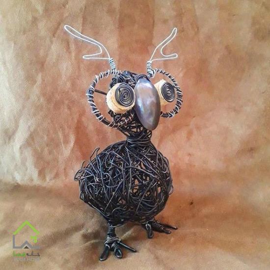 مجسمه پرنده جغد