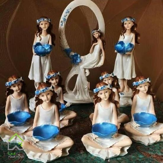 مجموعه ظروف هفت سین فرشته