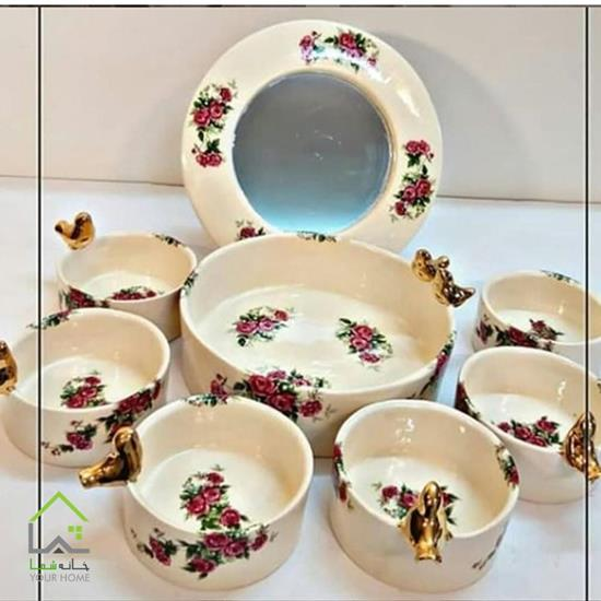 ظرف هفت سین سنتی گلدار
