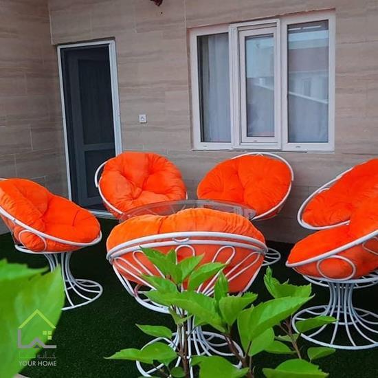 ست میز و صندلی ویلایی طاووسی