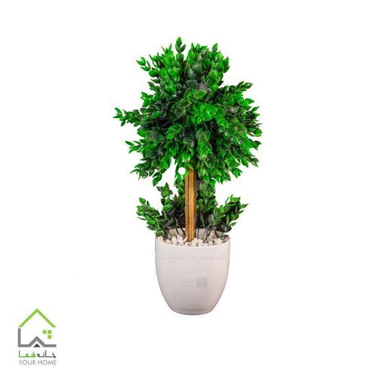 گلدان درختچه مصنوعی مدل پونه