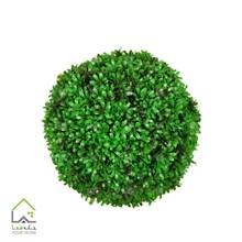 گل مصنوعی توپی مدل رزماری سبز سایز بزرگ