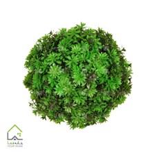 گل مصنوعی توپی داوودی سبز
