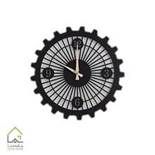 تصویر ساعت دیواری پلکسی مشکی