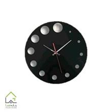 تصویر ساعت دیواری پلکسی دایره ای