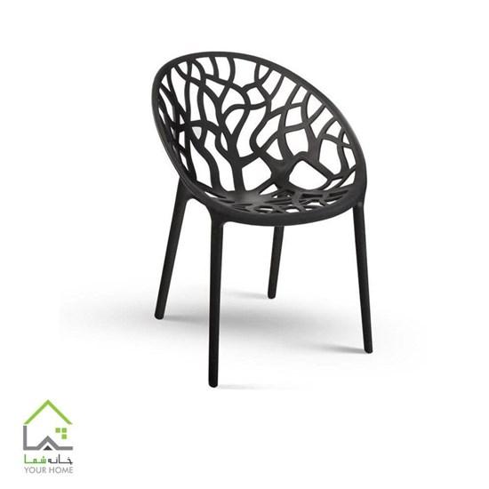 تصویر صندلی شاخ و برگی
