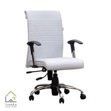 صندلی اداری کرکره ای سفید