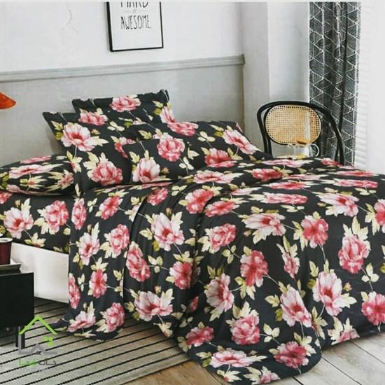 روتختی دو نفره 6 تکه گلدار