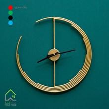 ساعت دیواری فلزی مدل مونامن